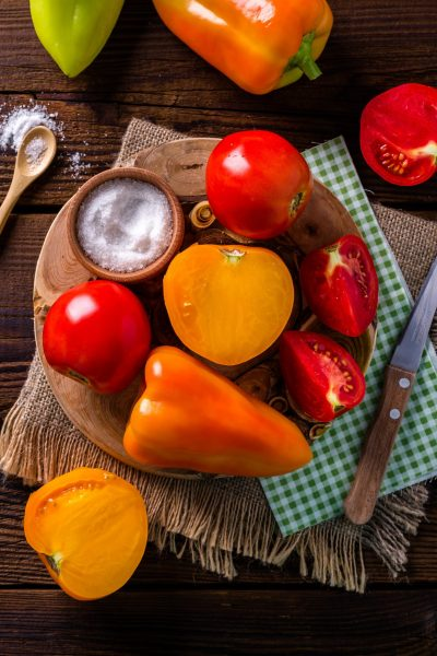 Fruits legumes italien